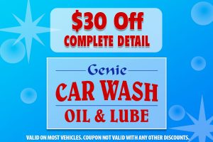 $30 Off Complete Detail